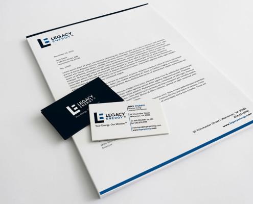 Brand Identity - Legacy Energy